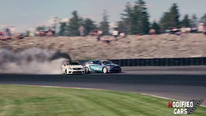 Black smoke racing gatebil 2016 mercedes