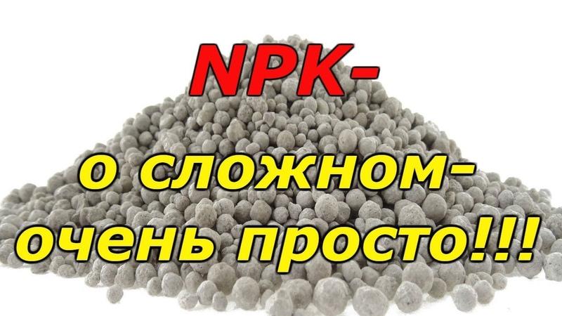 Что такое NPK и его значение для растений!
