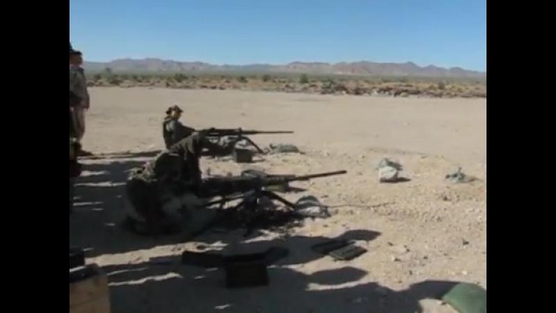 Navy SEALs, стрельба из Browning M2 .50BMG | Anti Terror Forces | ATF