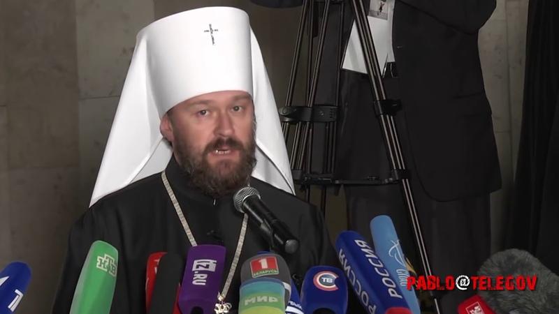 Белорусский митрополит Мы разрываем отношения с Константинополем