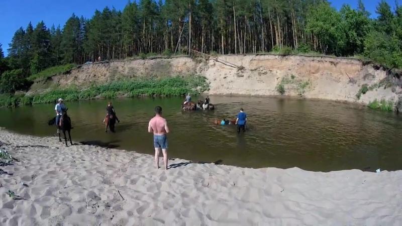 Сплав по реке Кондурча