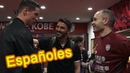 Behind the scenes 🔴 First meet 3 Spanish players in Japanese league ● Iniesta ● Torres ● Villa