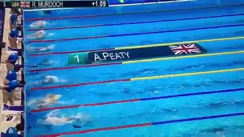 Британский пловец побил мировой рекорд на 100 м брассом - 57,55