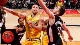 GS Warriors vs Washington Wizards Full Game Highlights   01/24/2019 NBA Season