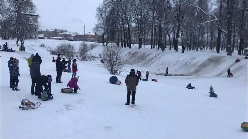 Зима в Угличе