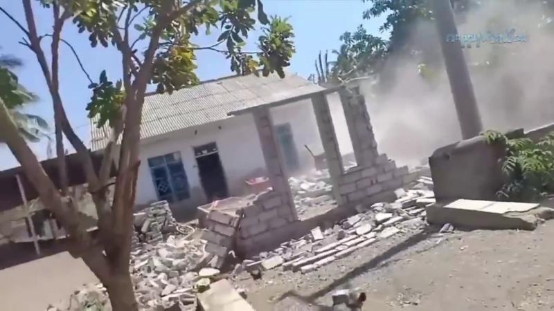 1740 Индонезия. Землетрясение. 19 августа 2018.