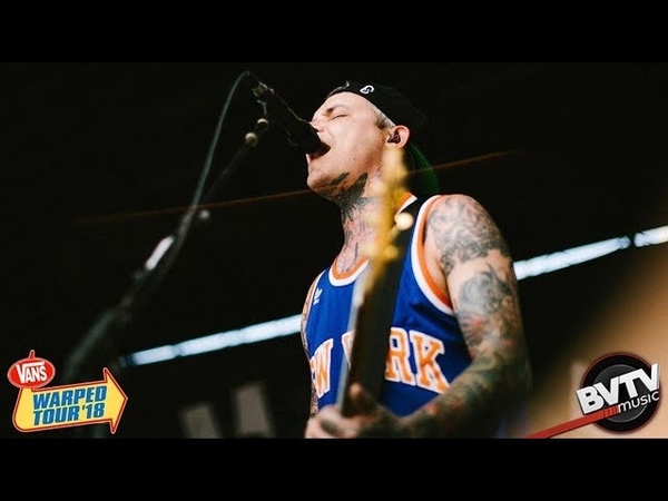 The Amity Affliction This Could Be Heartbreak LIVE @ Warped Tour 2018