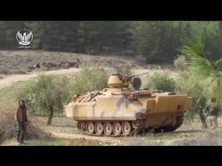 Syria War 2018 - Battle of Afrin_ Turkish-backed Free Syrian Army in Firefights