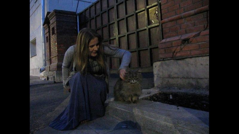Элла нашла котика !