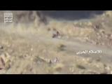 Yemen - March 2018 - Ambush against Saudi armored Vehicles in Jizan