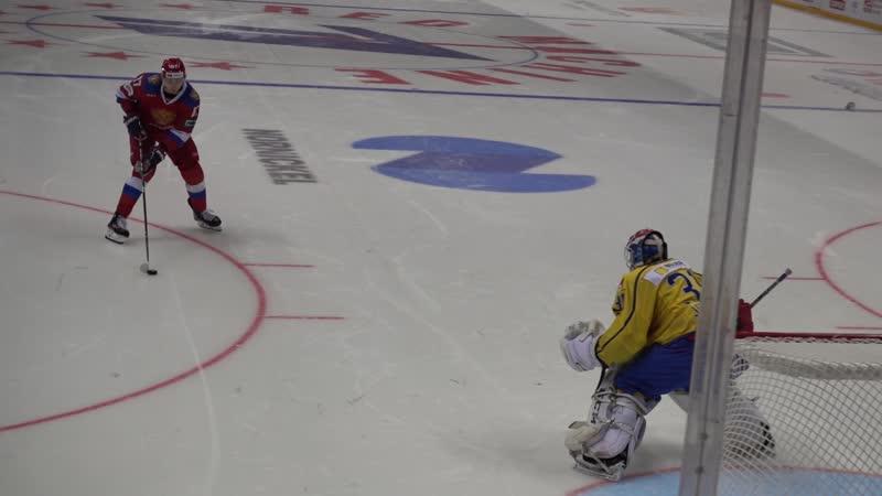 Швеция Россия Кубок Первого канала 13 12 18 3