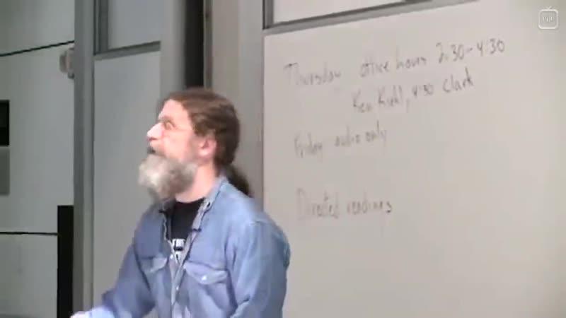 Биология поведения человека- Лекция 24. Шизофрения [Роберт Сапольски, 2010. Стэнфорд]