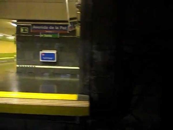 Metro de Madrid - Línea 4 - Alfonso XIII - Avenida de la Paz
