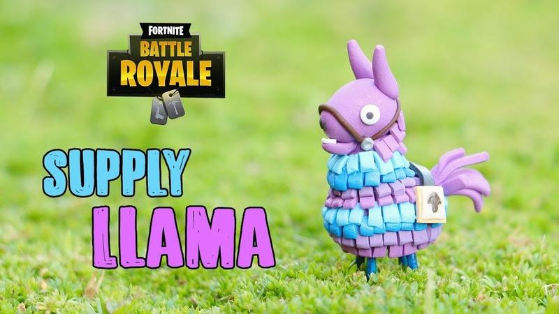 DIY Miniature Fortnite Llama│Polymer Clay Tutorial