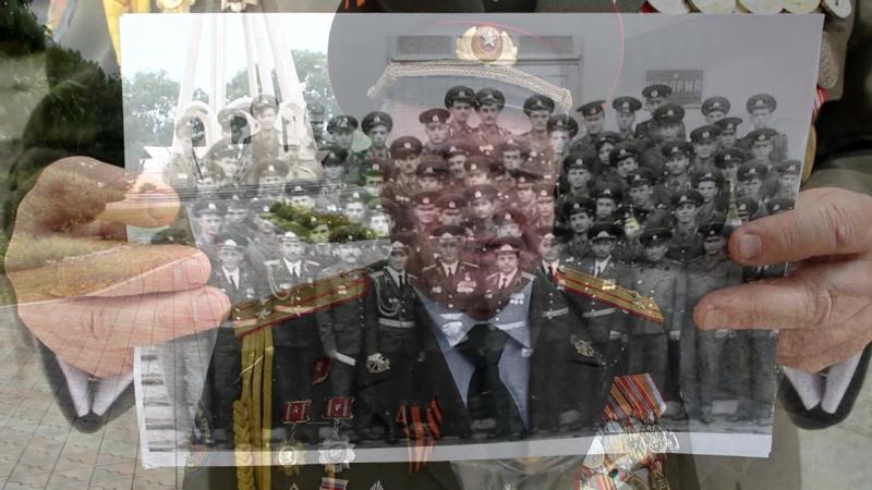 Видеофильм о гвардии капитане Дамаскине Д.З.