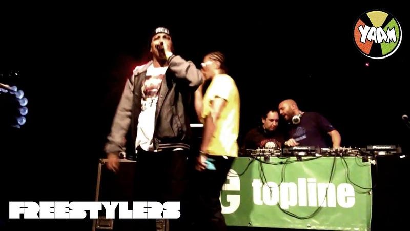 Freestylers Feat. Navigator Tenor Fly - Live @ YAAM - Berlin 02.10.2014