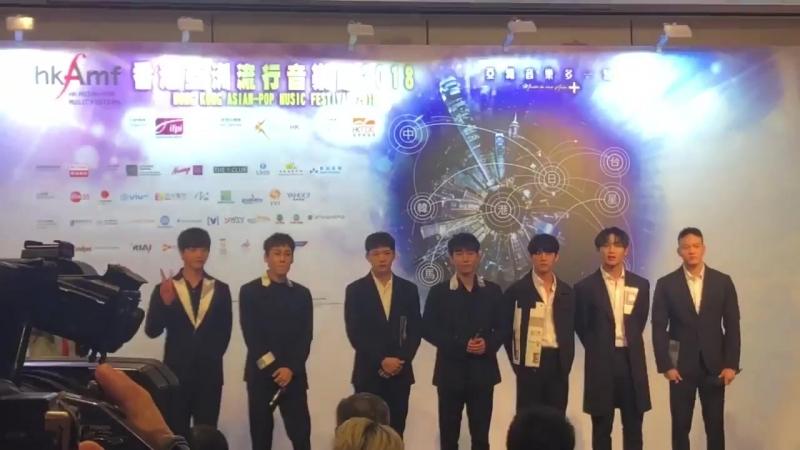 [PRESS] 22.03.2018: BTOB на HKAMF Press Conference @ Star Arena