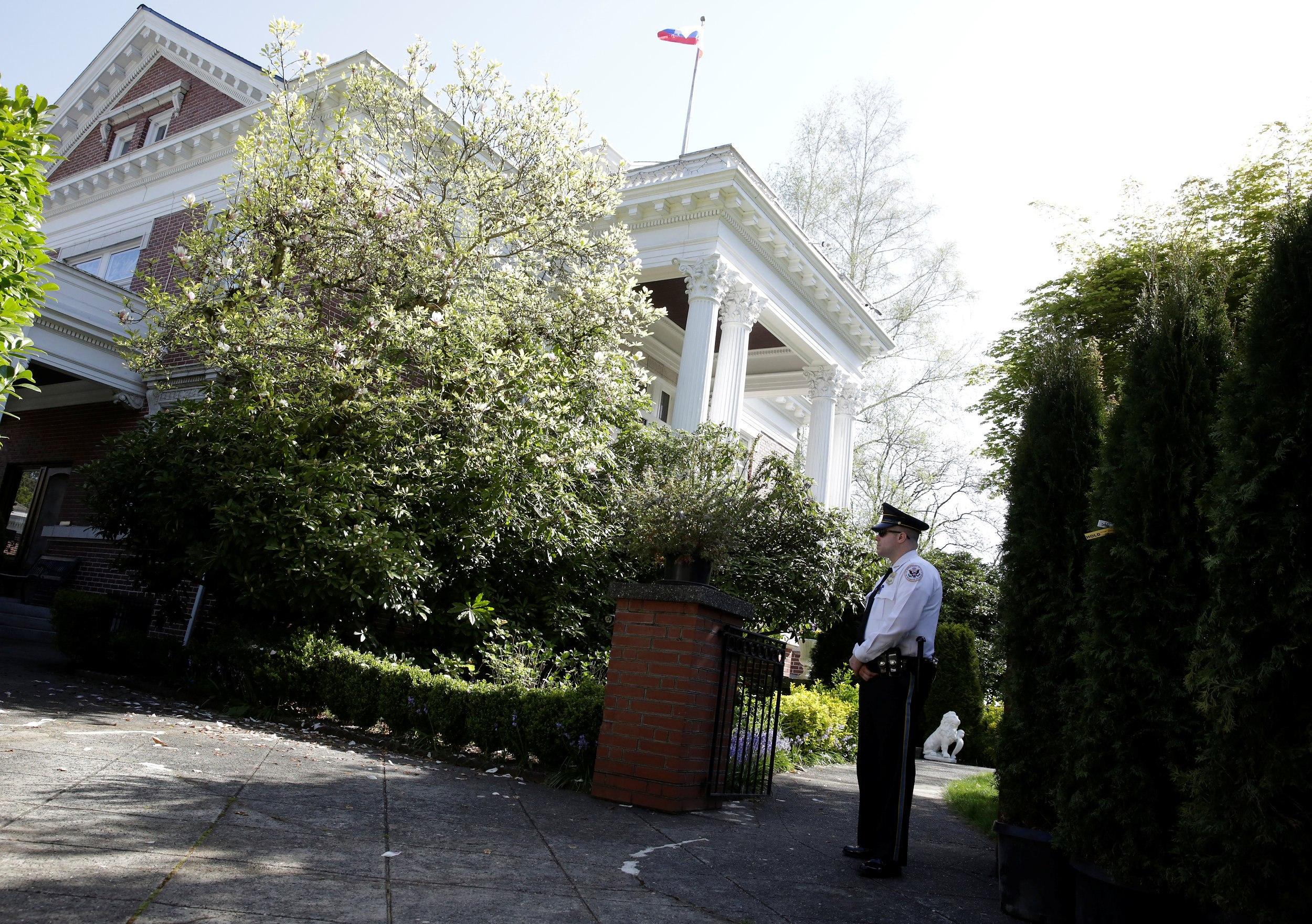 В Госдепе объяснили проникновение на территорию резиденции российского консула в Сиэтле