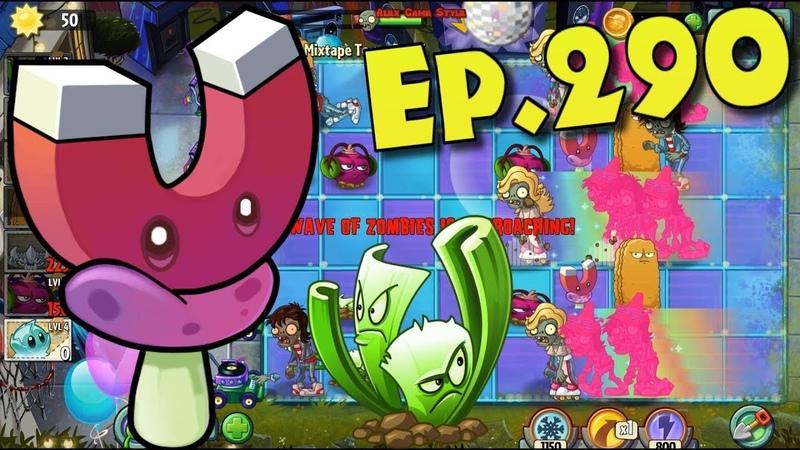 Plants vs. Zombies 2 || Magnet-shroom, Phat Beet, Celery Stalker - Neon Mixtape Tour Day 7 (Ep.290)