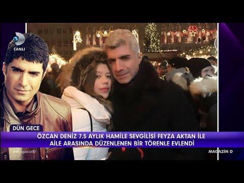 Özcan Deniz Feyza Aktan ile evlendi Magazin D 16 Mart 2018