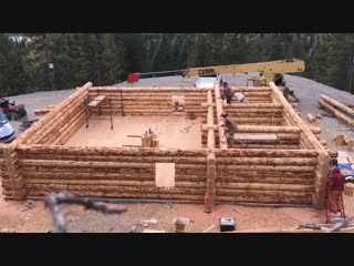 Building a 1500sq. ft Off-Grid Cabin in 56 Days