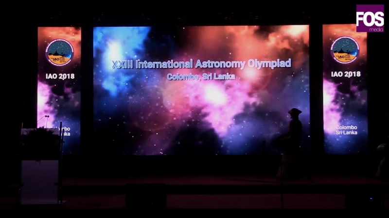 XXIII International Astronomy Olympiad - Opening Ceremony