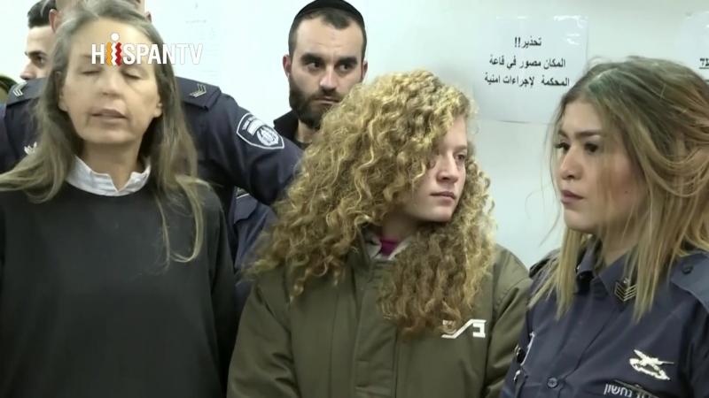 8 meses de cárcel para menor palestina que abofeteó a soldado israelí