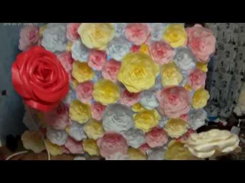 Материалы из которых изготавливаю цветы.