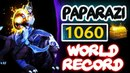 TOP 1 MMR Paparazi 1060 GPM NEW WORLD RECORD vs Mineski - Dota 2