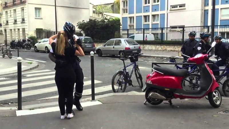 Lynne, Nāåty, Juneline Police Officer - Dancing Kizomba in Paris