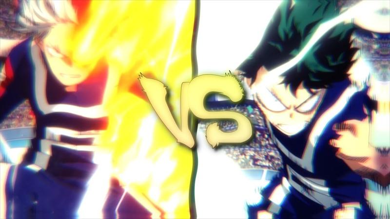 「 AMV 」Boku no Hero Academia - Midoriya VS Todoroki Edit