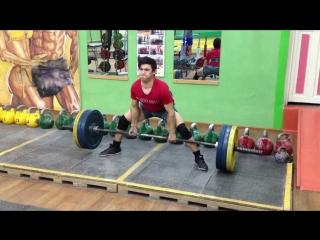 Алимгулов Линар тяга 130 кг по 2р 3 п. вес 51 кг