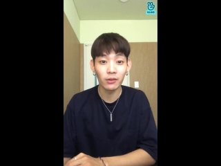 [V LIVE] 180706 XENO-T Sangdo 'Please, let's play for only one hour?' V Live