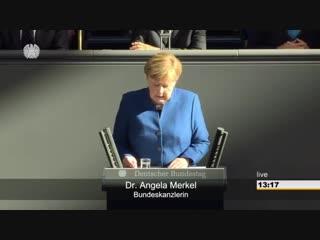 Merkels Regierungserklärung: Brexit, Europäischer Rat und zum ASEM-Gipfel im Oktober
