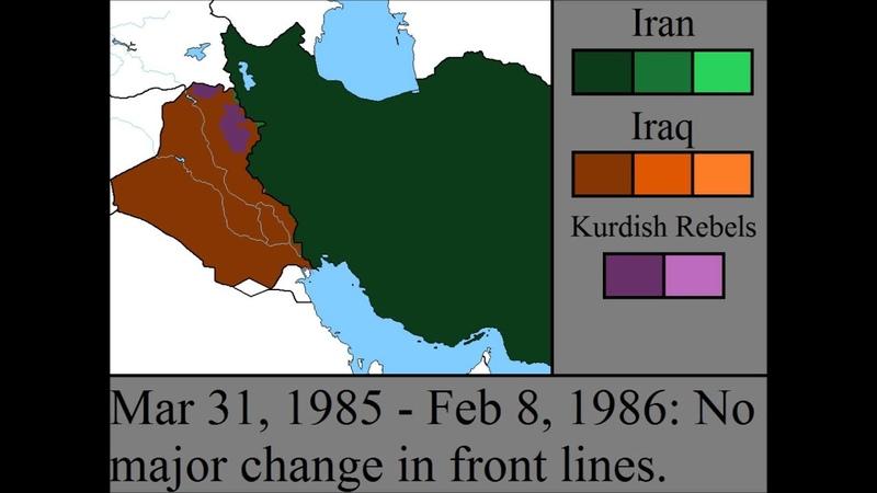 The Iran-Iraq War Every Fortnight