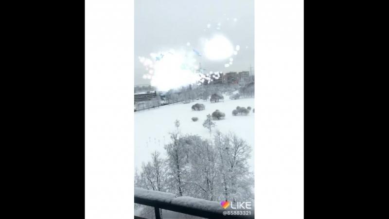 Вид из окна ... Питер. Весна друзья😂😂😂