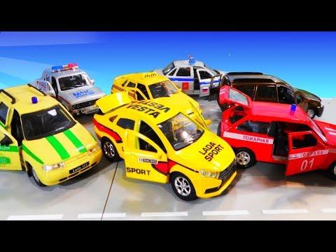 Модели автомобилей LADA Машинки Технопарк и Автотайм