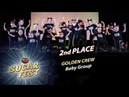 GOLDEN CREW 🍒 2nd PLACE - BABY GROUP 🍒 SUGAR FEST Dance Championship