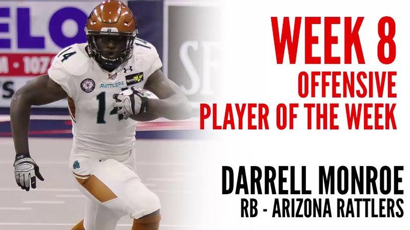Week 8 Offensive Player of the Week: Darrell Monroe