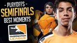 Best Of Overwatch League Semifinals (Funny & Epic Moments)