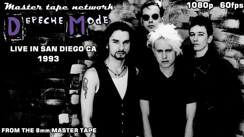 Depeche Mode Live in San Diego CA 1993 Master Tape Network 1080p 60fps HD