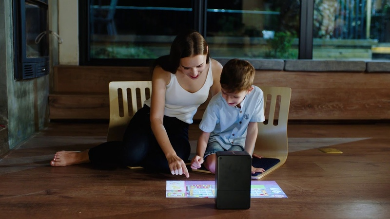 The future is here! Turn any surface into a touchscreen 😮 | puppy cube