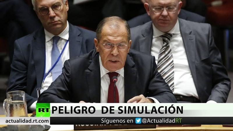 Rusia advierte sobre el peligro de atacar a Siria bajo un pretexto simulado