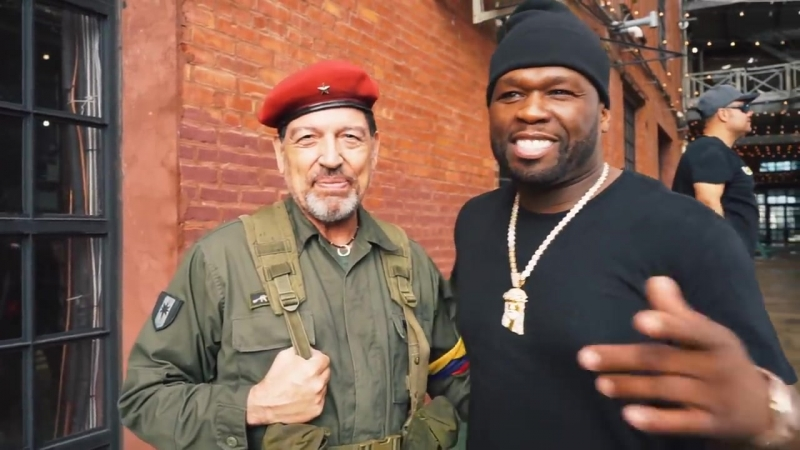 Get The Strap Behind The Scenes Video - Uncle Murda 50 Cent 6ix9ine Casan{Rapdiagnoz}