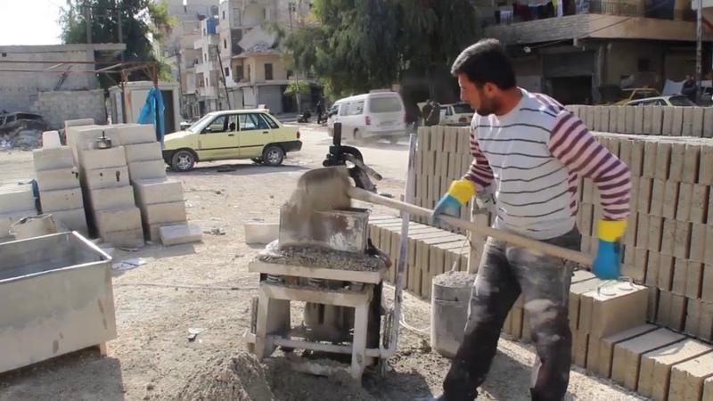 Brick factory in Aleppo 2018