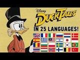 DuckTales in 25 languages! (2 ver.)