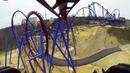 Banshee Roller Coaster REAL POV Kings Island Ohio 2014 AWESOME