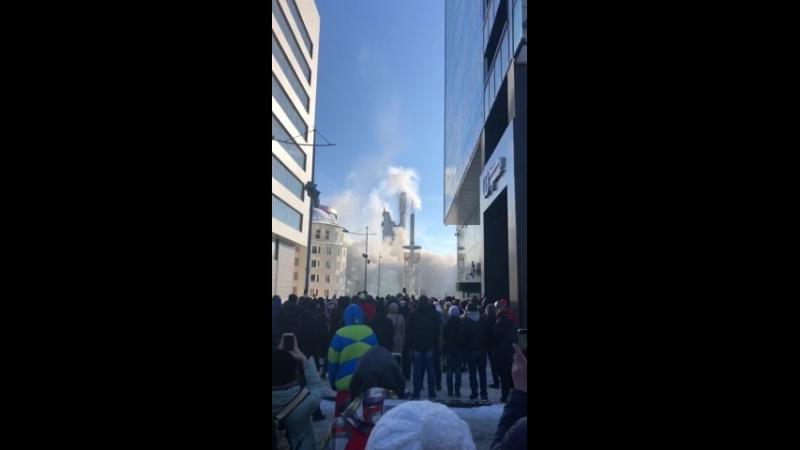 Сегодня снесли башню в Екатеринбурге 2018 г