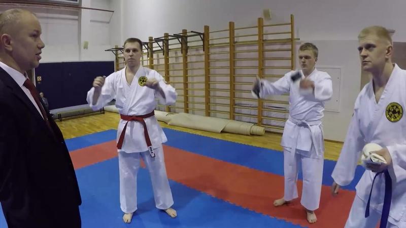 Blog video - поездка на Чемпионат Санкт-петербурга по кумитэ Каратэ WKC - Спб 2018 (Февраль)