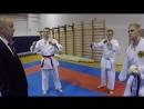 Blog video поездка на Чемпионат Санкт петербурга по кумитэ Каратэ WKC Спб 2018 Февраль